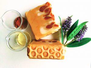 Honey natural soap