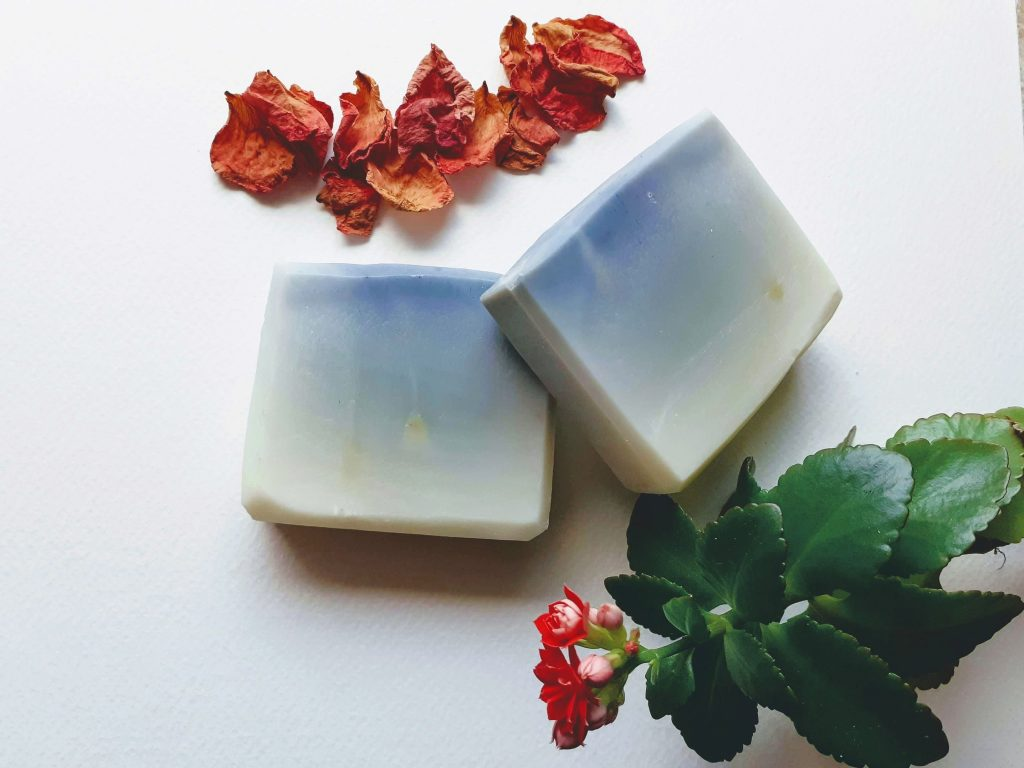 How to do ombre design for soap