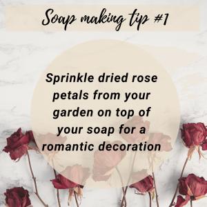 Soap making tip 1