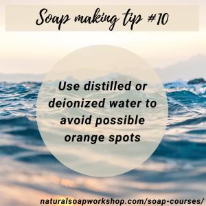 Soap making tip 10
