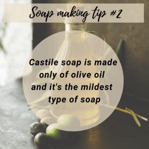 Soap making tip 2
