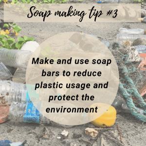 Soap making tip 3
