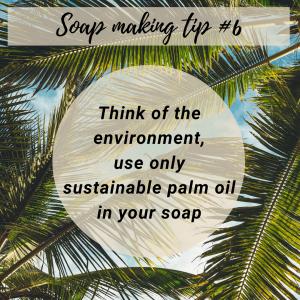 Soap making tip 6