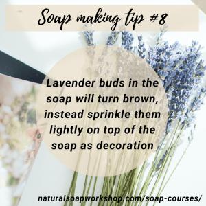 Soap making tip 8