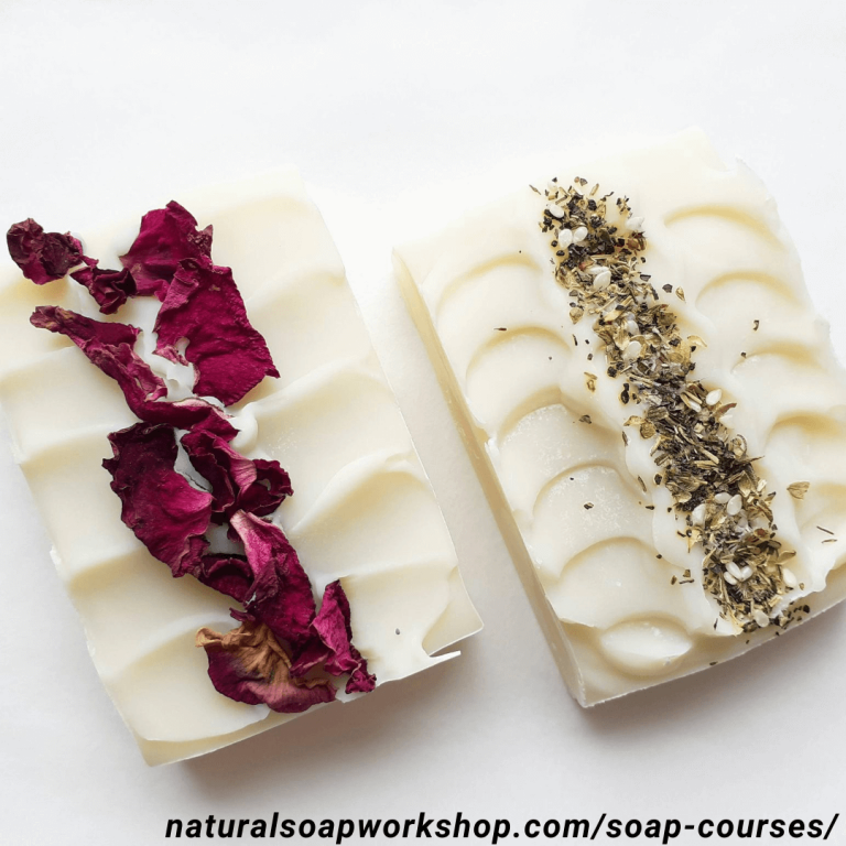how to decorate the top of the soap