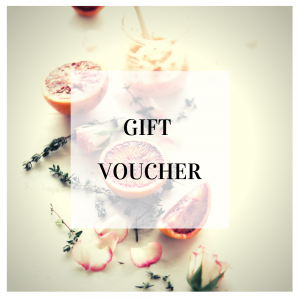 Gift voucher for soap making course