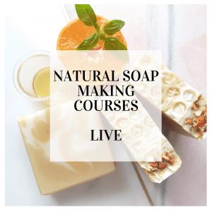 natural soap courses live