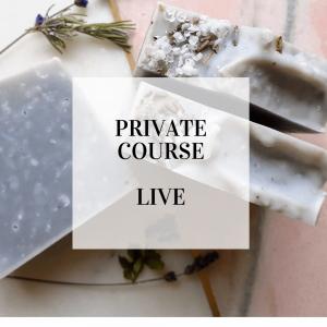 private soap making course
